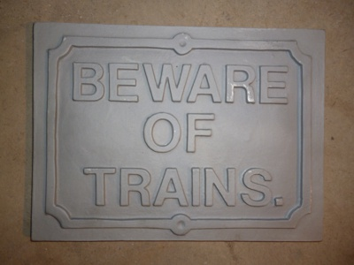 GWR Beware of Trains